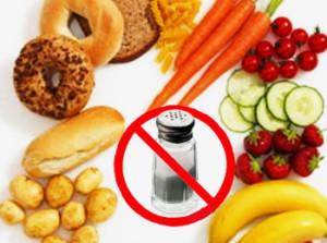 Бессолевая диета - обязательна при лечении болезни