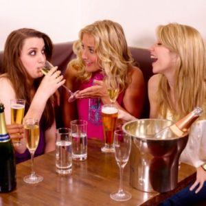 Групповое распитие алкоголя