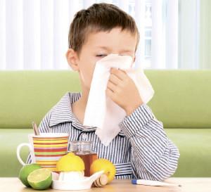 Инфекция - причина насморка