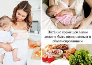 Рацион матери