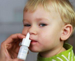 Капли в нос детям