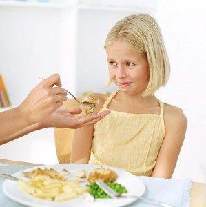 Питание не должно быть против воли ребенка