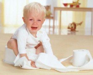 Анальные трещины у ребенка