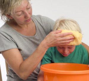Тошнота и рвота у ребенка