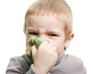 У ребенка не дышит нос