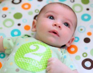 Режим дня двухмесячного ребенка