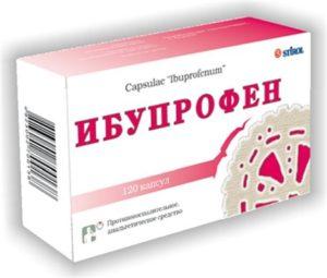 Ибупрофен в таблетках