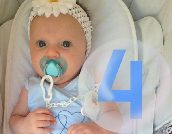 Режим дня новорожденного в 4 месяца