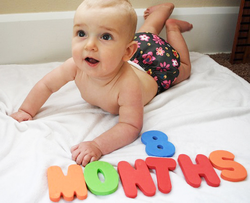 ребенку 8 месяцев картинки
